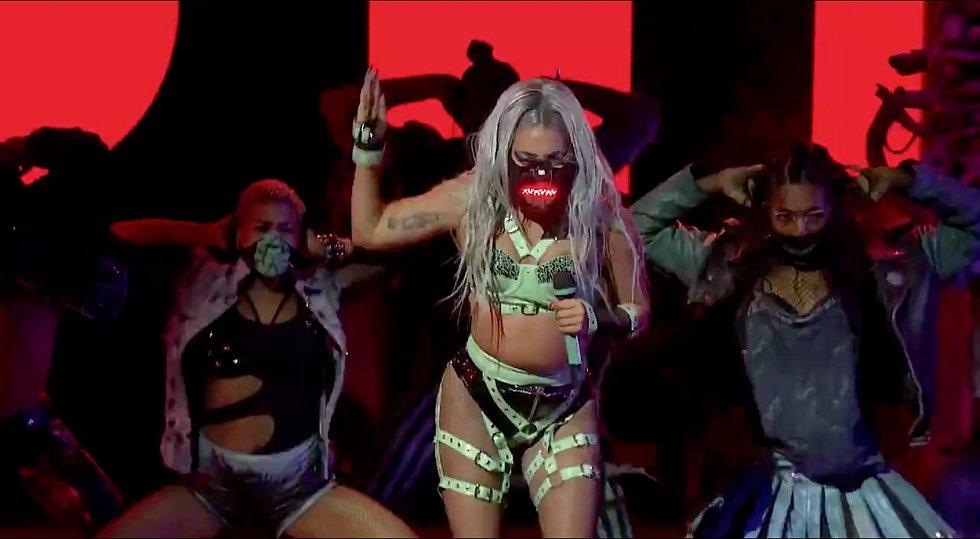 Lady Gaga na udílení cen MTV