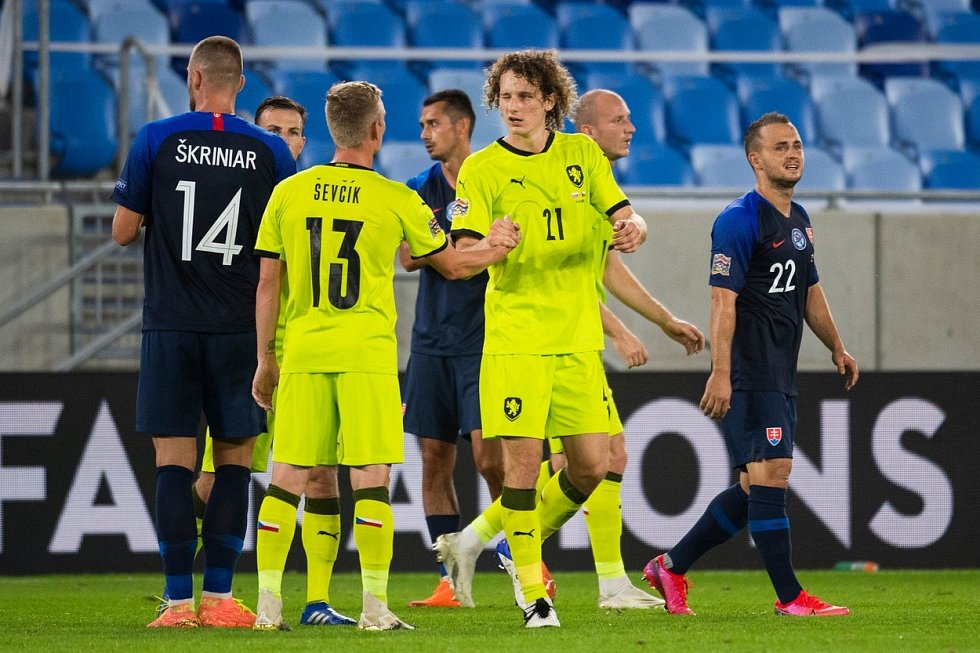 Utkání Ligy národů mezi Slovenskem a Českem