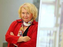 Novinářka Lída Rakušanová.