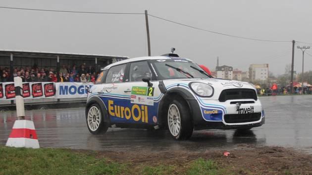 Václav Pech vyhrál Rallye Šumava Klatovy.