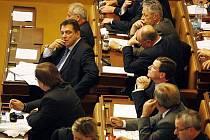 Poslanci ČSSD ve Sněmovně. Ilustrační foto
