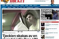 Článek švédského webu Expressen se věnuje skandálu reprezentačního trenéra Česka.