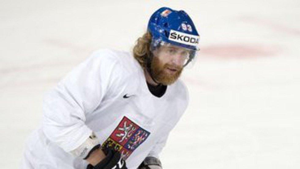 Český hokejový reprezentant Jakub Voráček.