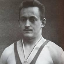 Jaroslav Cibulka jako řecko římský zápasník v roce 1948