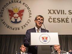 27. sněm Hospodářské komory ČR probíhal 28. května v Praze.