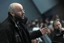 Hokejový trenér Pavel Hynek.