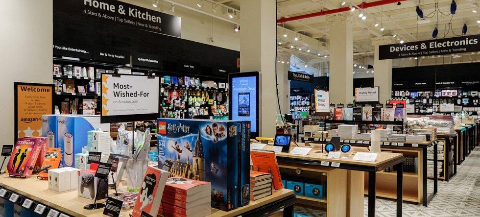 Nový obchod Amazon 4-star v New Yorku