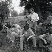 Na Borůvkové hoře si disidenti vyměňovali samizdaty a informace.
