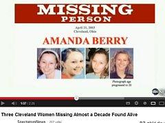 Amanda Berryová zmizela v dubnu 2003 na cestě z práce. Tehdy jí bylo 16 let.