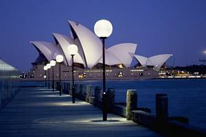 Opera v Sydney. Ilustrační foto
