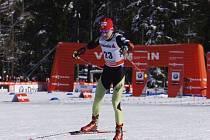 Běžkyně na lyžích Eva Vrabcová-Nývltová na Tour de Ski.