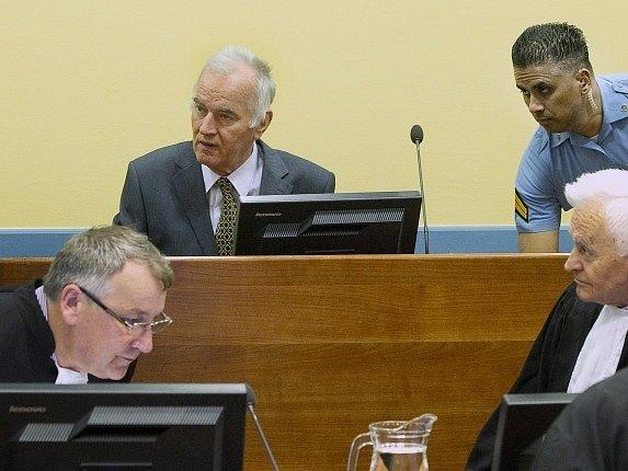 Ratko Mladic u haagského soudu