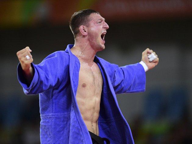 Judista Lukáš Krpálek se stal v Riu olympijským šampionem.