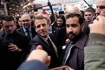 Alexandre Benalla a Emmanuel Macron