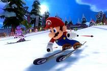 Počítačová hra Mario & Sonic at the Sochi 2014.