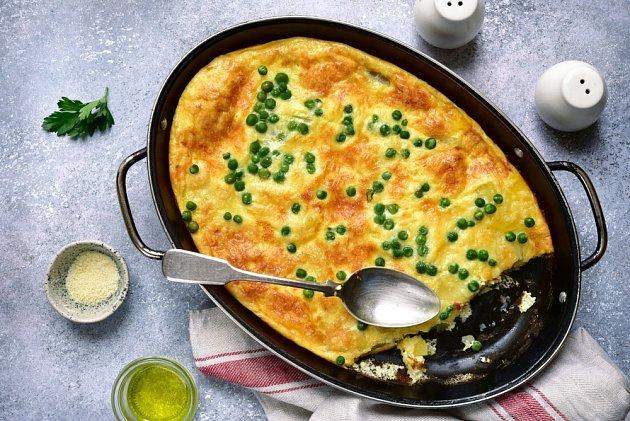 Selská omeleta shráškem