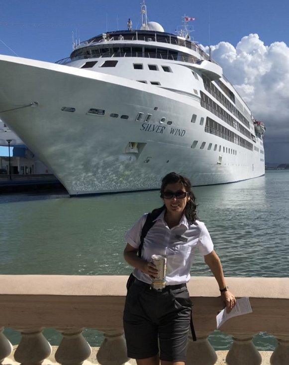 Klasické lodě jsou vlastně plovoucí pětihvězdičkové hotely, líčí Kateřina Přibíková.