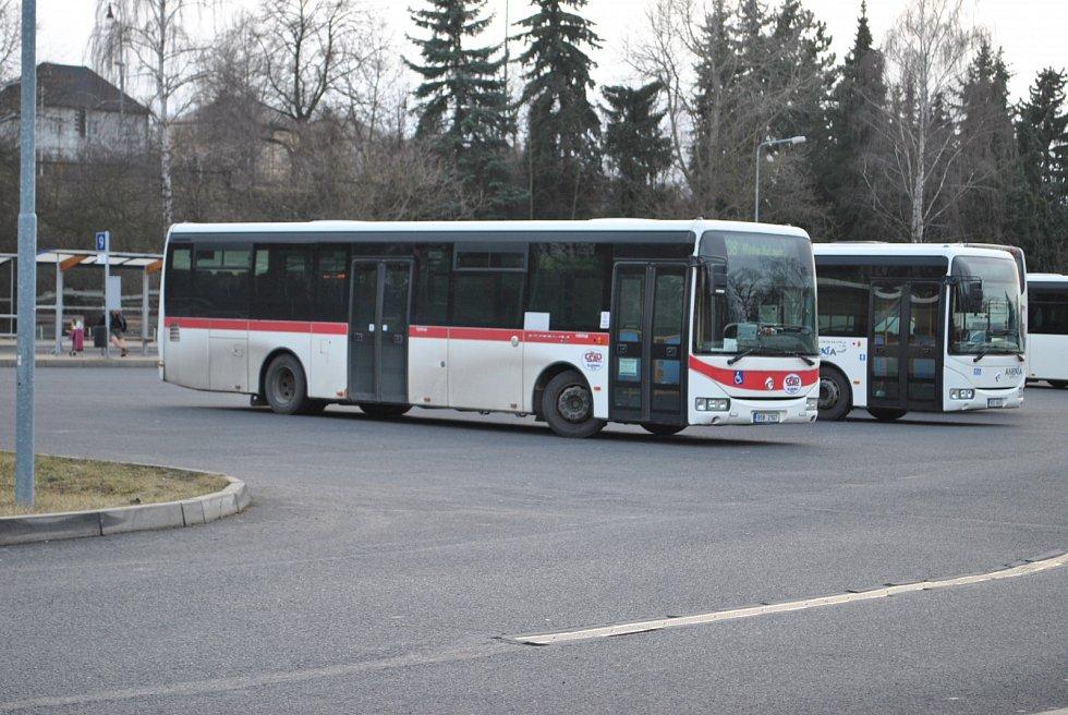 Kladenské autobusové nádraží 2017