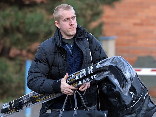 Hokejový útočník Marek Kvapil