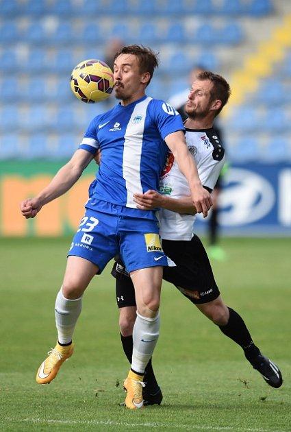 Liberec vs. Hradec Králové: Josef Šural (vlevo) a Marek Plašil