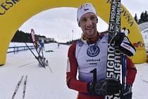 Vítěz závodu Martin Jakš.