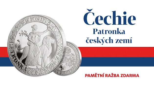 Unikátní pamětní medaile oživuje úctu kpatronce Českých zemí