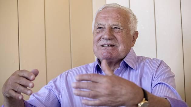 Exprezident Václav Klaus.
