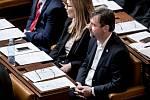 Zasedání sněmovny 28. listopadu v Praze. Radek Koten