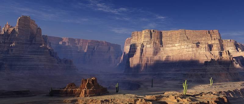 Krajina v americkém Utahu