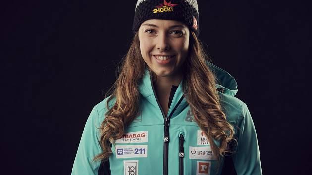 Skeletonistka Anna Fernstädtová