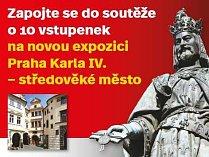 Soutěžte s Deníkem o vstupenky na expozici Praha Karla IV. - starověké město
