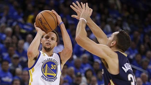 Stephen Curry v akci