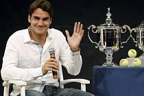 Roger Federer bude usilovat o svůj šestý titul na US Open v řadě.