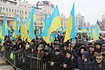 Ukrajinští pravoslavní se odtrhli od Moskvy. Mají svou nezávislou ukrajinskou národní církev. Přihlížely tisíce věřících