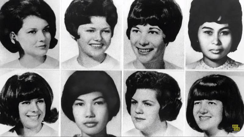 Osm zdravotních sestřiček, které Richard Speck zavraždil