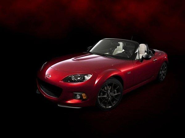 Mazda MX-5 25th Anniversary Edition.