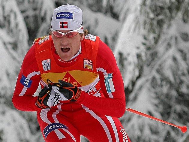 Vítězství ve Stockholmu vybojoval Nor Svartedal (na snímku pří závodě Tour de Ski).