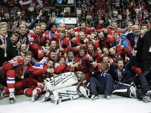 Ruští hokejisté vybojovali po patnácti letech světové zlato