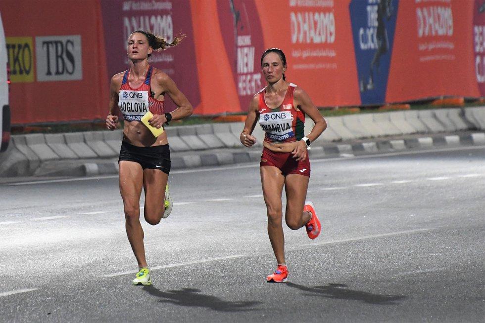Marcela Joglová skončila 20. na MS v Dauhá