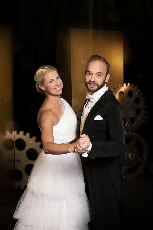 Bývalá tenistka Andrea Sestini Hlaváčková a Michal Necpál