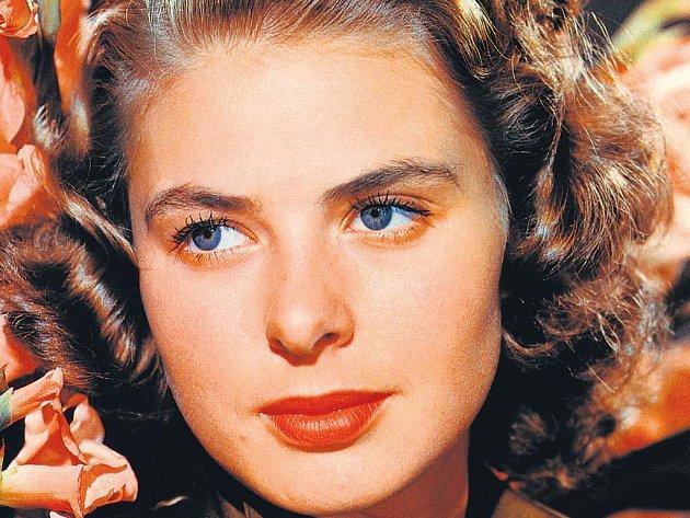 Okouzlující. Podle hereckého kolegy Gregoryho Pecka byla Ingrid Bergmanová ve skutečnosti ještě mnohem krásnější než na plátně.
