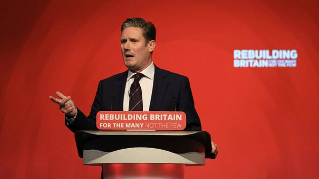 Keir Starmer - Mluvčí labouristů pro brexit