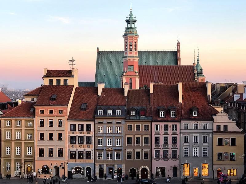 Polská metropole Varšava v době koronavirové