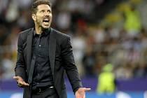 Trenér Atlética Madrid Diego Simeone.
