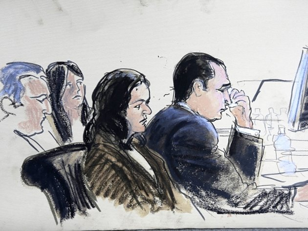 Gilbert Valle u soudu.