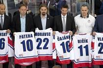 Zleva Martin Ručinský, Pavel Patera, David Moravec, Petr Čajánek, Viktor Ujčík, Tomáš Vlasák.