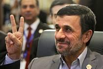 Bývalý íránský prezident Mahmúd Ahmadínežád.