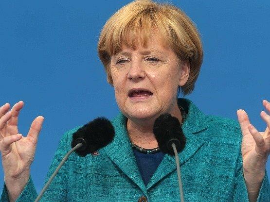 Angela Merkelová v roce 2013.