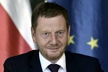 Premiér německé spolkové země Sasko Michael Kretschmer
