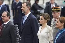 Španělského krále Felipeho VI. s královnou Letizií (uprostřed).
